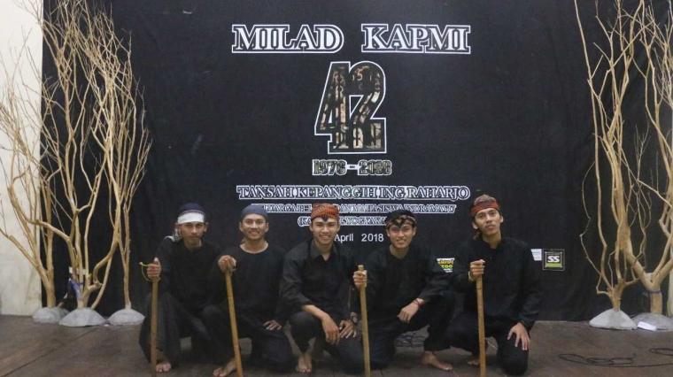 Milad KAPMI D.I. Yogyakarta Suguhkan Seni Sampyong