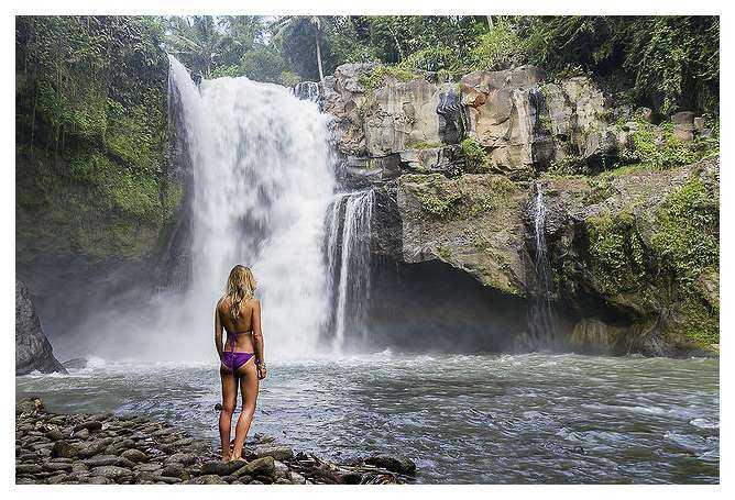 Air Terjun Tegenungan yang Mempesona di Bali