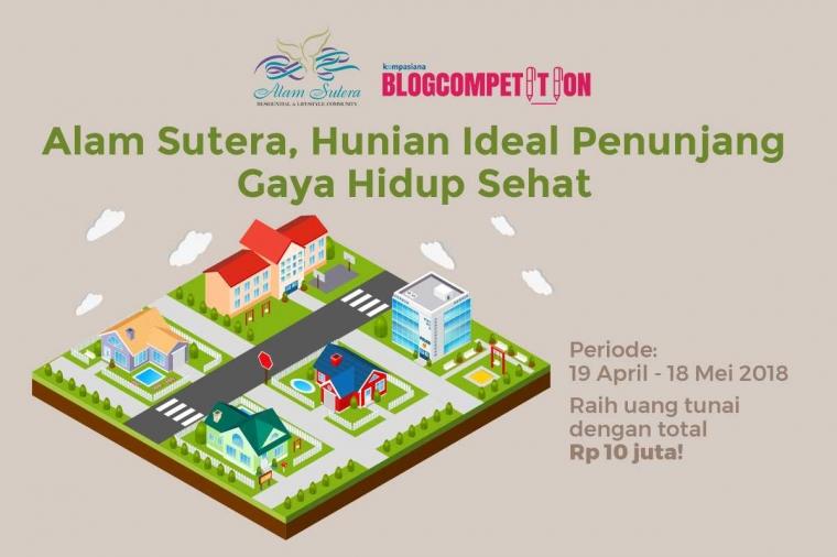 [HARI TERAKHIR] Blog Competition: Alam Sutera, Hunian Ideal Penunjang Gaya Hidup Sehat