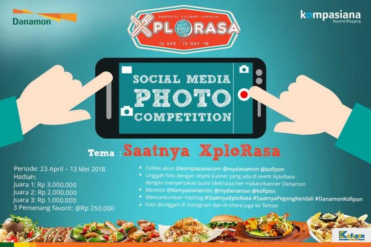 Ayo, Buktikan Rasa Cintamu terhadap Kuliner dan Food Photography Melalui Photo Competition Ini!