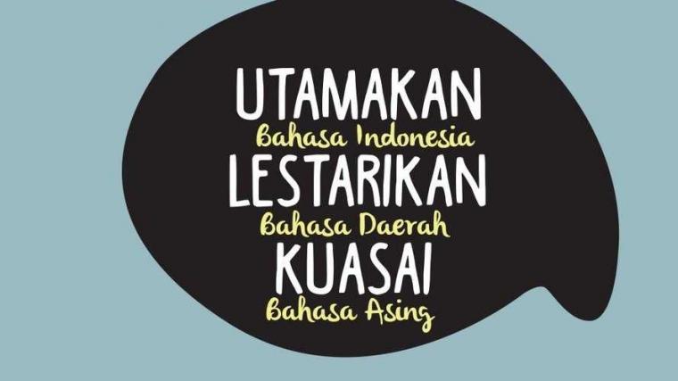 Aku Kamu, Gue Elu, Urang Maneh, Kulo Kowe - Bahasa persatuan, bahasa Indonesia!