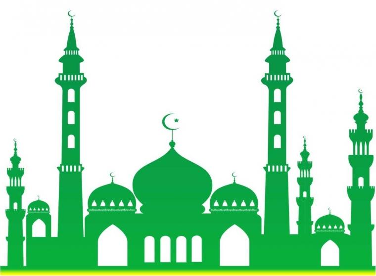 93 Gambar Gambar Masjid Hijau Png Terbaik