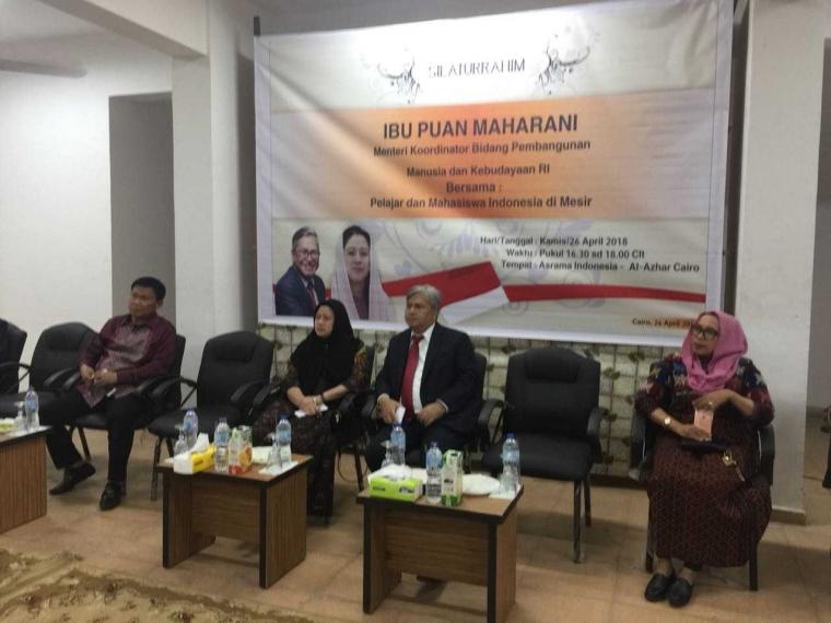 Puan Maharani ke Mesir, Mahasiswa Indonesia Tak Antusias?
