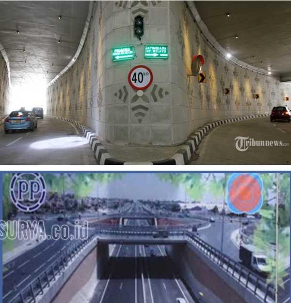 Membandingkan Proyek Underpass Bundaran Satelit Surabaya yang Tak Kunjung Selesai