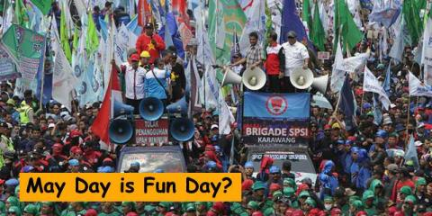 May Day is Fun Day?