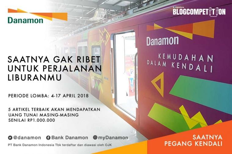 Inilah Lima Pemenang Blog Competition Danamon Railink