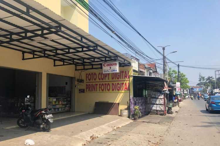Jalan Depan Akses UI Kembali Normal, Toko-toko di Sekitar Mako Brimob Mulai Buka
