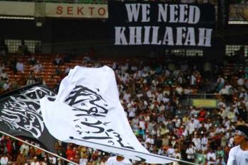 Image result for menolak khilafah