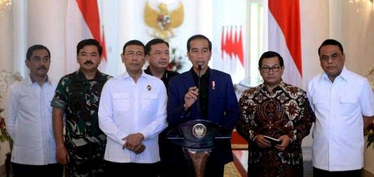 Joko Widodo: Negara dan Rakyat Tidak Takut, dan Tidak Akan Beri Ruang  bagi Terorisme