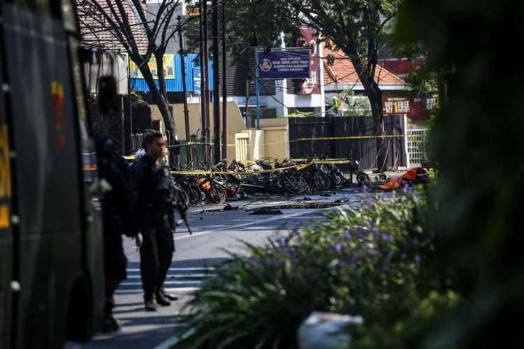 Ledakan Bom Guncang 3 Gereja di Surabaya