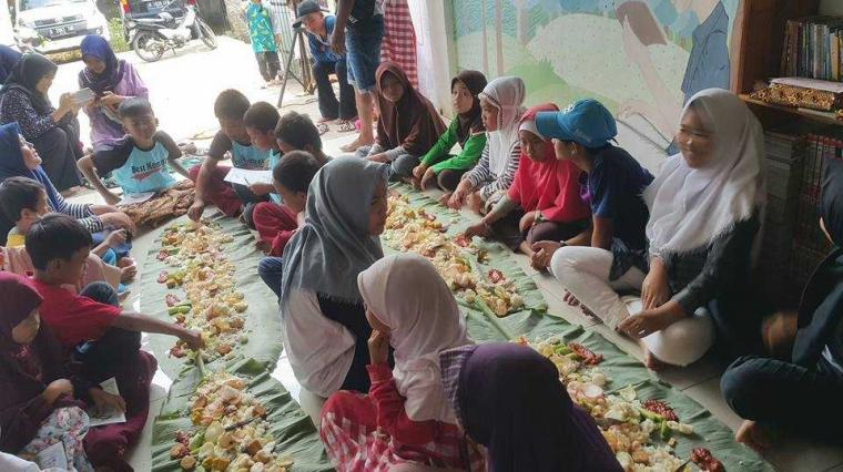 TBM Lentera Pustaka Gelar Ramadan Ceria; Tetap Baca Saat Puasa