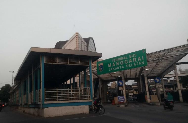 Terminal Megah Manggarai yang Pernah Diresmikan Jokowi Kini Tak Berfungsi?