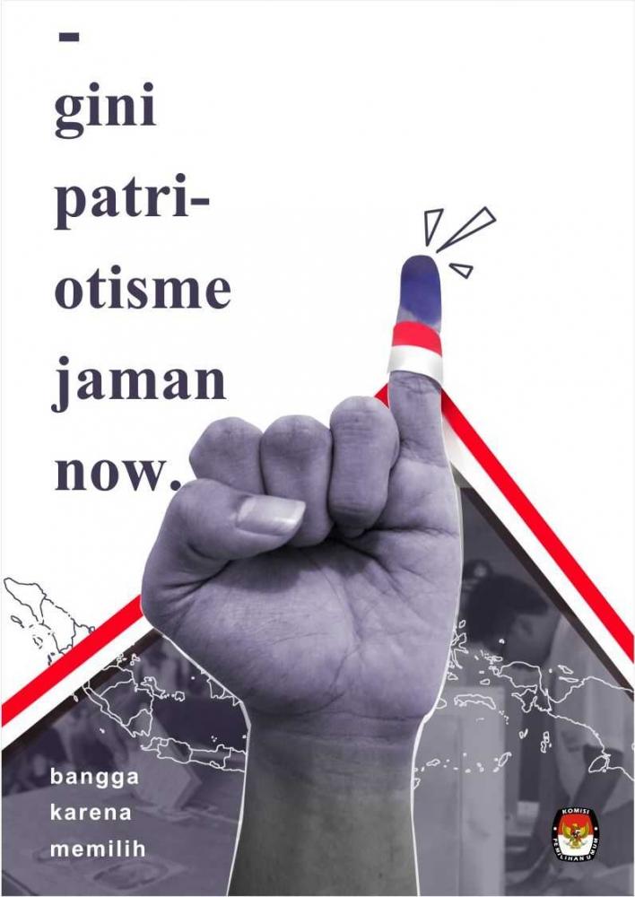 "Interpretasi Poster Kampanye Pemilu ""Gini Patriotisme Jaman Now"""