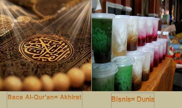 Khatam Al-Qur'an  3 Kali  dan Rajut Bisnis di Bulan Berkah