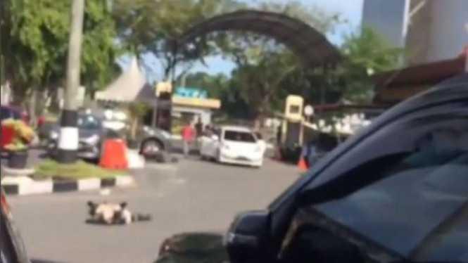 Bumi Lancang Kuning Terguncang, Polda Riau Diserang, 4 Teroris Tewas