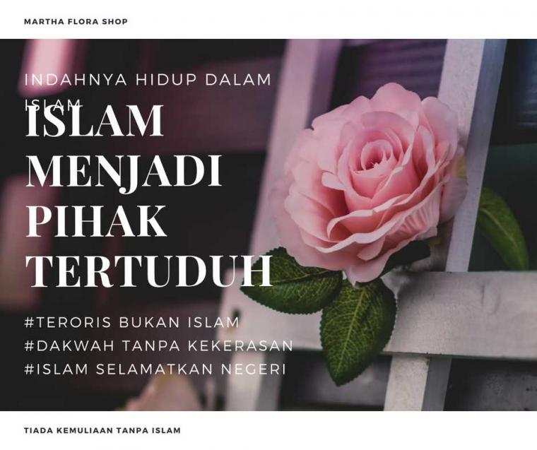 Islam Menjadi Pihak Tertuduh