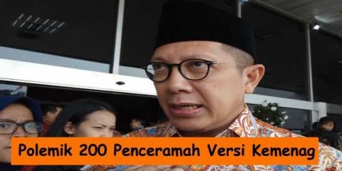 Polemik 200 Penceramah Versi Kementerian Agama