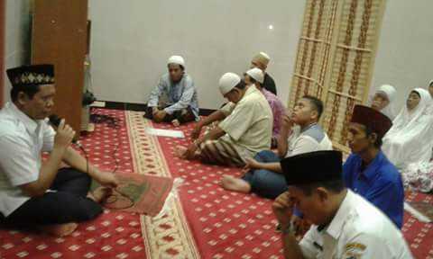 Lurah Jelambar Himbau Perbanyak Amal Ibadah Bulan Puasa Ramadhan 1439 H