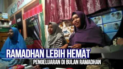 Ramadhan (Harusnya) Lebih Hemat?