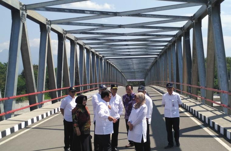 Diresmikan, Jembatan Wijaya Kusuma Mudahkan Akses Timur dan Barat Kabupaten Kediri