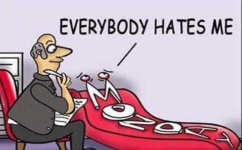 """I Hate Monday!"" Padahal Dia Tanpa Dosa"