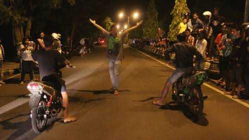 Resiko Balap Sepeda Motor Liar Yakni Cacat dan Meninggal