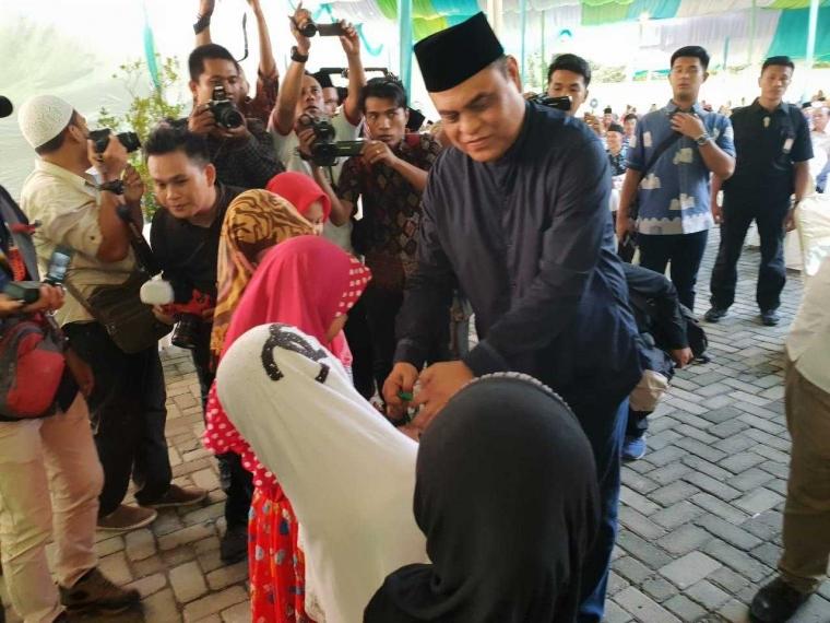 Waketum DMI Resmikan Masjid Al Musliman, Medan