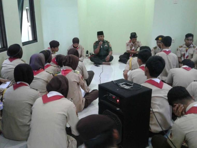 Koramil 0716-05/Mijen Tadarus Al Quran Bersama Sakawira Kartika