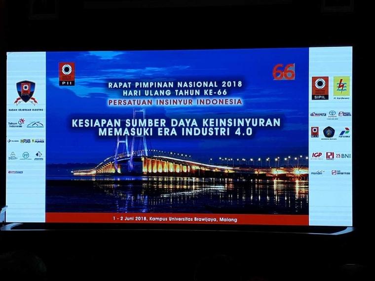 Rapimnas PII 2018 Refleksi kepada Kemandirian Insinyur Indonesia