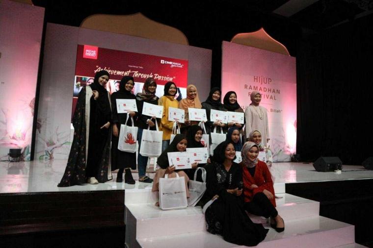 Ratih, Mahasiswi Desain Produk Esa Unggul Raih Top 5 Fashion Desainer Hijup Festival 2018