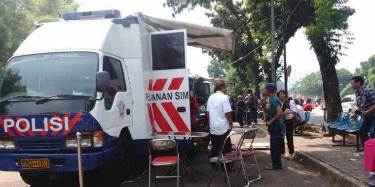 """Petualangan"" Mencari Lokasi Mobil SIM Keliling di Palembang"