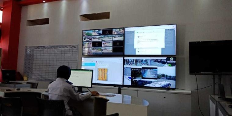 Posko Mudik dan CCTV Jadi Media Penting Pantauan Mudik 2018