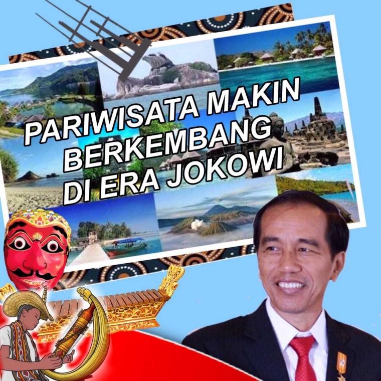 Selama Kepemimpinan Presiden Jokowi, Industri Pariwisata Terus Bergeliat