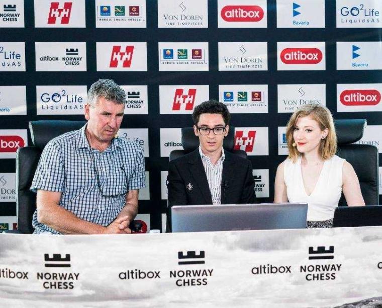 Fabiano Caruana Juara Altibox Norway Chess 2018