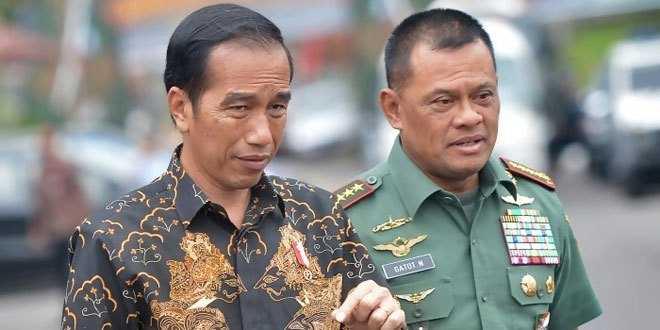 Jokowi Tak Terkalahkan di Pilpres 2019, Gatot Tersingkir