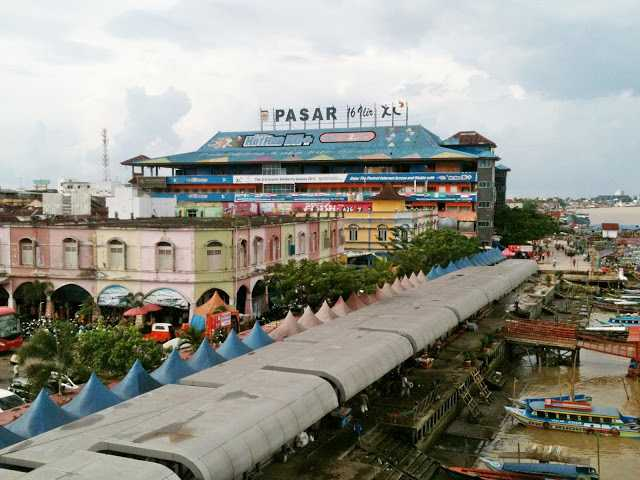 "Berbelanja ke ""Tanah Abangnya"" Palembang"