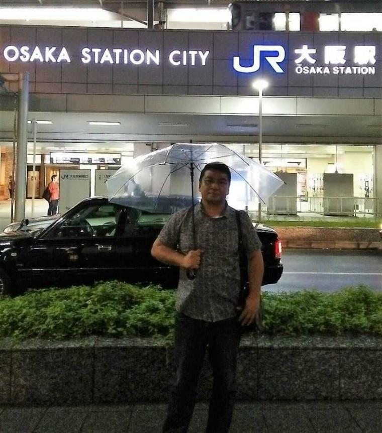 Ada Hujan di Bulan Juni di Osaka