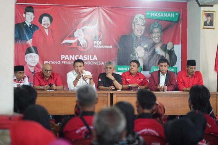 PDI Perjuangan Mantapkan Para Saksi demi Sukseskan Pilkada Serentak 2018