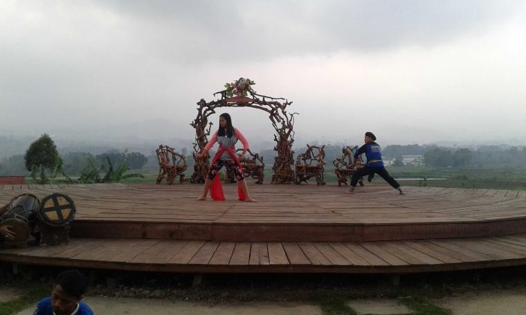 Foto-foto Menarik di Wisata Taman Budaya Pujon Kidul
