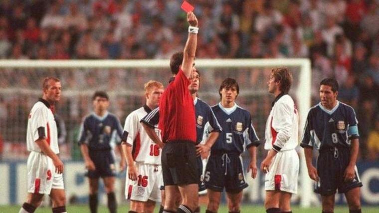 Piala Dunia 1998, Skenario Final dan Perseteruan Beckham vs Simeone (Kilas Balik-2)