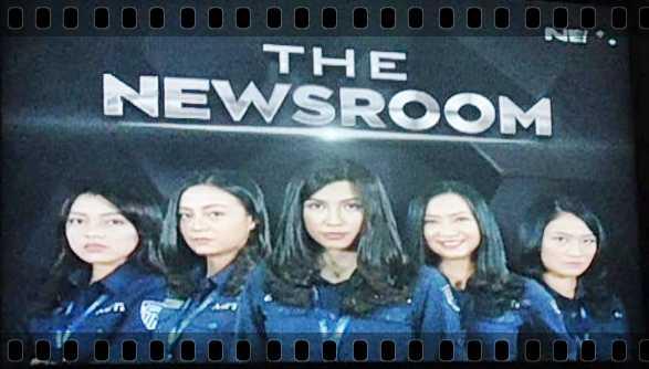 """The Newsroom"", Saat Reporter jadi Selebriti"