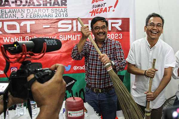 Meneropong Rekam Jejak Kandidat Pilgub Sumut 2018