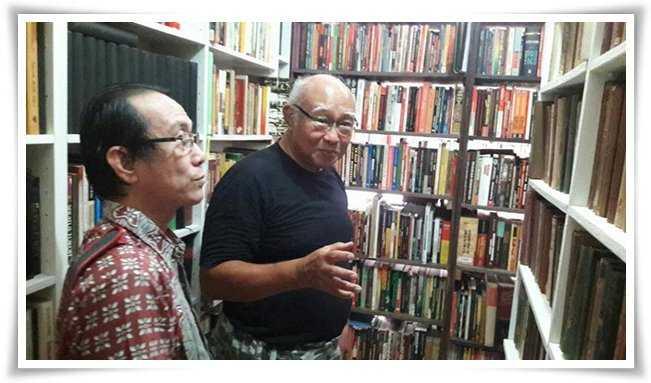 Pak Harianto Sanusi, Kolektor Buku yang Diapresiasi oleh Abdullah Dahana hingga Harry Poeze