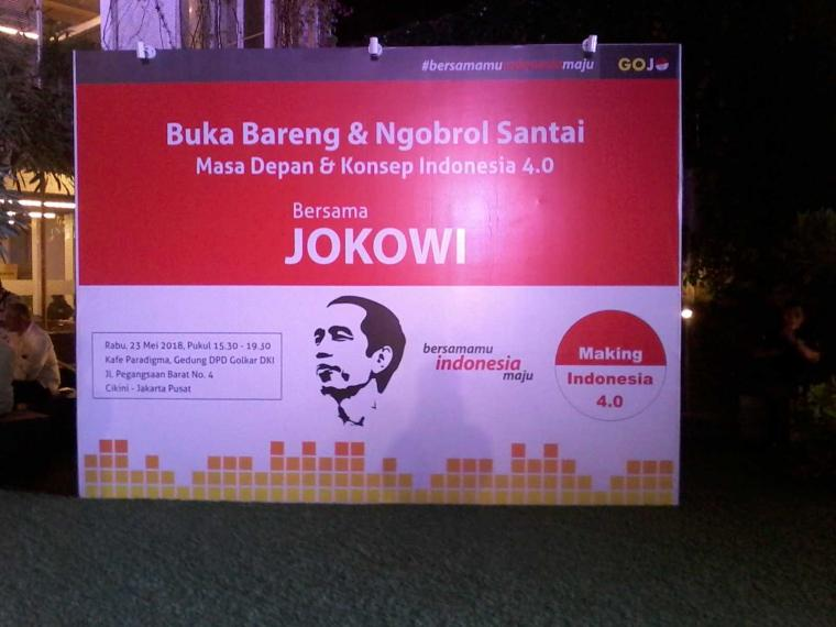 Bukber dan Ngobrol Santai Bareng Jokowi