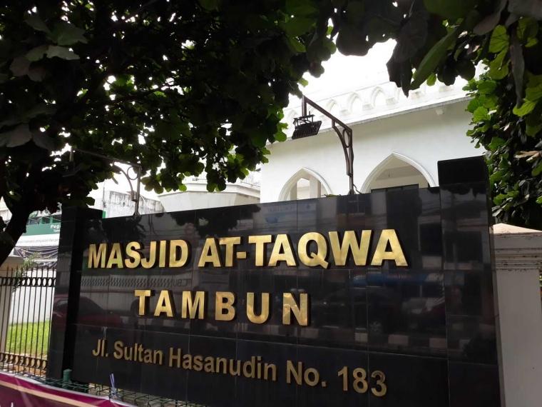 Masjid Putih Sarat Nilai Sejarah di Bekasi