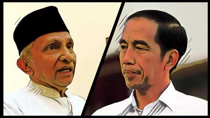 Apa Salah dan Dosa Pak Jokowi Sehingga Amien Rais Membenci dan Menghujat sampai ke Ubun-ubun?