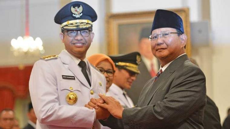 Dibanding Gatot, Anies Lebih Berpeluang Jadi Cawapres Prabowo