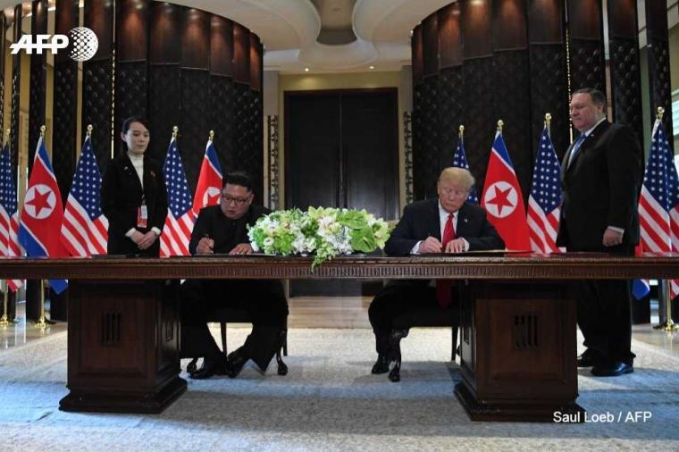 Berharap Kim Jong-un, Donald Trump, dan Moon Jae-in Terima Hadiah Nobel Perdamaian, Mungkinkah ?
