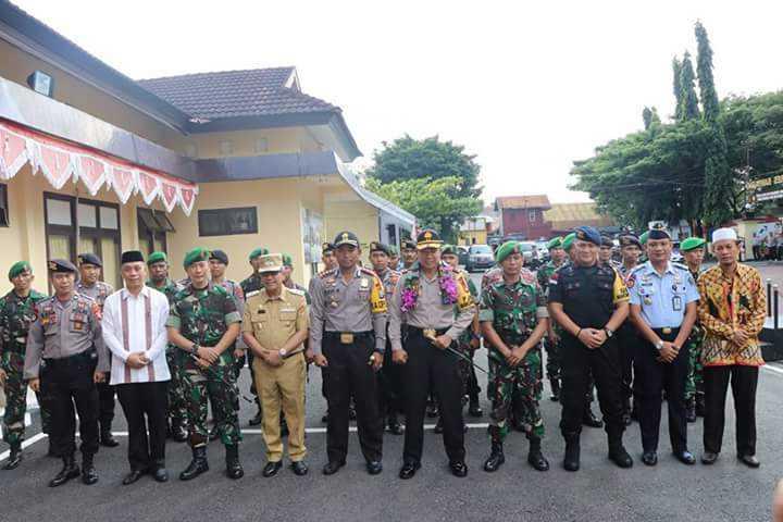 Bersama Forkopimda, Kakan Kemenag Sambut Kunker Kapolda Sulsel Di Bantaeng