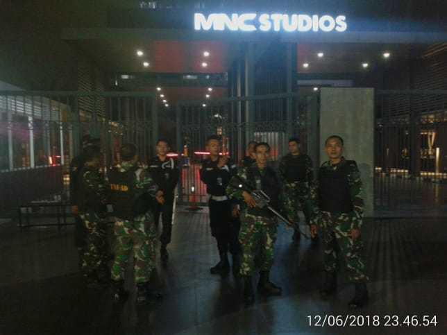 Kodim 0503/JB Pastikan Wilayah Aman Jelang Lebaran dengan Patroli Gabungan Rutin